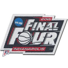2015 NCAA Men's College Basketball Final Four Jersey Patch (Indianapolis)