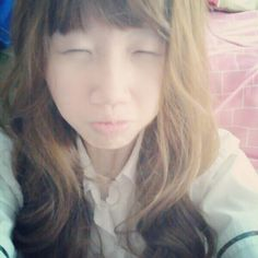 me - blonde hair with school uniform ^^