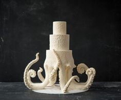 Joshua John Russell creates his signature octopus wedding cake in this Man About Cake episode. Watch, then grab the recipes & supplies.