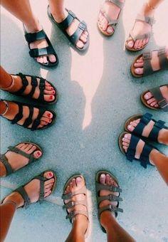 Cute shoes, me too shoes, summer aesthetic, birkenstocks, birkenstock sanda Birkenstock Sandals, Birkenstock Florida, Cute Shoes, Me Too Shoes, Trendy Shoes, Vsco, Pumped Up Kicks, Gal Pal, Birkenstocks