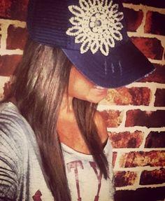 Vintage bling trucker hat!!  Find LIVE LOUD on Facebook!!   https://m.facebook.com/#!/photo.php?fbid=482680635141741=100001994272261=a.118405261569282.21787.100001994272261&__user=100001994272261