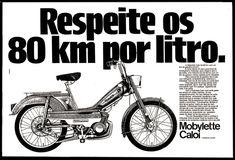 Anúncio Mobylette Caloi - 1977