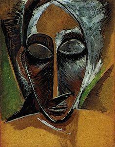 Pablo Picasso - Head - 1907 [fromPicos Vázquez]