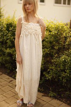 Unconventional Wedding Dress. Woodland wedding dress. Whimsical dress.. $98.00, via Etsy.