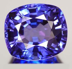 Tanzanite. Nice color but it has a window.