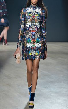 Mary Katrantzou Fall/Winter 2014 Trunkshow Look 9 on Moda Operandi