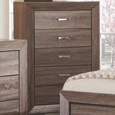 Coaster Kauffman Chest with 5 Drawers - Coaster Fine Furniture