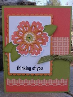 Card made with Mixed Bunch stamp set by Stampin' Up!
