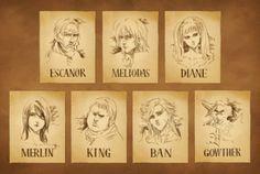 Seven Deadly Sins Anime, 7 Deadly Sins, Dream Anime, Tokyo Ghoul, Seven Deady Sins, 7 Sins, Cute Comics, Anime Life, Otaku Anime
