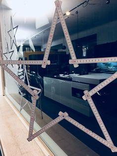 Sternen Weihnachtsdeko im diana Küchenstudio Pellet Diana, Ad Home