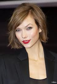 K Kloss rouge lip with bob