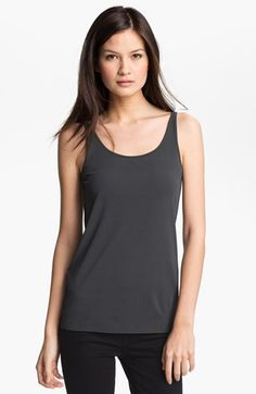 Eileen Fisher Scoop Neck Silk Camisole (Regular & Petite) available at #Nordstrom