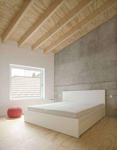 Gallery of Haus D / Yonder – Architektur und Design - 24 Design 24, House Design, Concrete Slab, Two Story Homes, Conceptual Design, Story House, Contemporary Architecture, Living Area, Mattress