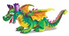 Melissa and & Doug Dragon  Giant Large Plush Animal Stuffed  New Item # 2121