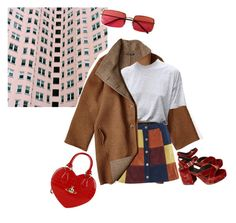 """aim high"" by hosoboyo ❤ liked on Polyvore featuring Jil Sander, MINKPINK, Vivienne Westwood and Gucci"
