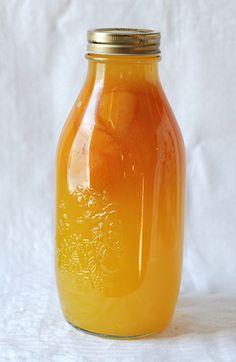 Homemade Orange Liqueur (aka Triple Sec) & a bonus Triple Orange Margarita recipe, from One tomato, two tomato.