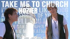 Take Me to Church - Hozier - cover by Jordan Jansen   I love his deep voice in this song........