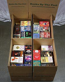 Boxed Mass Market Paperbacks - Books by the Foot