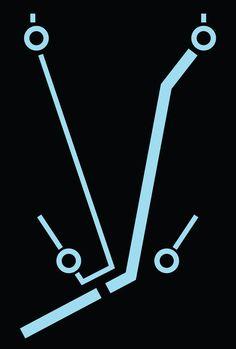 Tron: Legacy Minimalist Posters by Derrick Schimke, via Behance