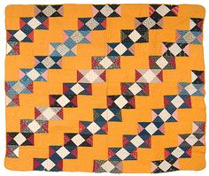 Kentucky pieced quilt.  Cheddar.  Love this quilt (surprise) and glad to know it is now in a good home with a friend.