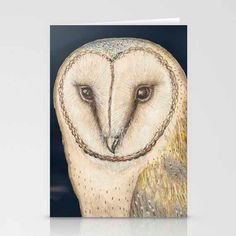 Greetings CardArt card Illustration. Owl Illustration. by modestly, £3.00