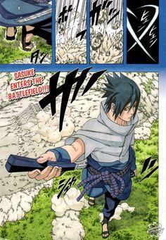 Naruto manga by Masashi Kishimoto