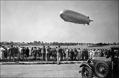 Graf Zeppelin approaching Friedrichshafen