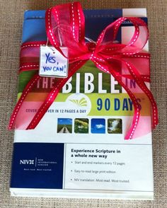 Bible in 90 Days: The beginning of a new chapter (and an ending)