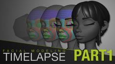 Sergi Caballer - Facial Modeling Timelapse 1/3 - BLOCKING TOPOLOGY on Vimeo