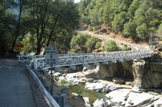 Mosquito Road Bridge...Placerville, CA...I saw a man die on this bridge in a car accident!
