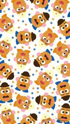 Mr and Mrs Potato Head Wallpaper