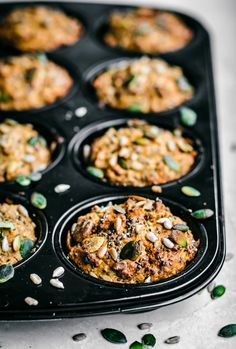 Morning Glory Carrot Muffins | Occasionally Eggs