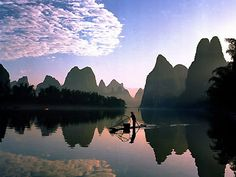 Most Beautiful Places in China-Guilin, Li River