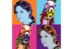 Andy Warhol 4 luik door Personal Art