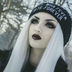 Gothic part 1 Looks Halloween, Halloween Makeup, Goth Beauty, Dark Beauty, Dark Fashion, Gothic Fashion, Steampunk Fashion, Nu Goth Fashion, Latex Fashion