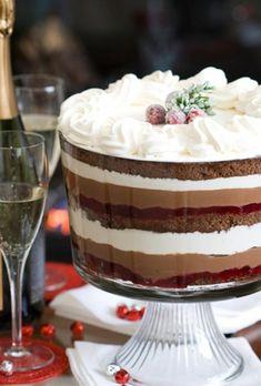 sahne tischdeko weihnachten einfache plätzche  backen schokolade