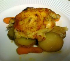 What Kara's Cookin': Slow Cooker Chicken Thighs with Carrots & Potatoes
