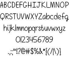 Girls Have Many Secrets font by Misti's Fonts - FontSpace
