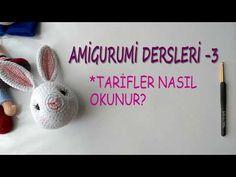 Amigurumi Dersleri-3 ( Amigurumi Şablonları Nasıl Okunur?) - YouTube