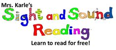 Learn to read for free:  Day 1
