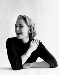 Just a black sweater would be enough to make you marvelous. Grace Kelly.