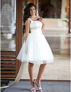MNEMOSYNE - Vestido de Noiva em Cetim e Tule – BRL R$ 297,97
