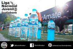 Un equipo bien hidratado es un equipo que busca ser campeón.