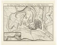 Nicolaes Visscher (II)   Kaart van de stad Namen met het kasteel, belegerd door het Franse leger, 1692, Nicolaes Visscher (II), 1692   Kaart van de stad Namen met het kasteel, belegerd door het Franse leger, 25 mei - 30 juni 1692. Linksonder een inzet met een gezicht op stad en kasteel.
