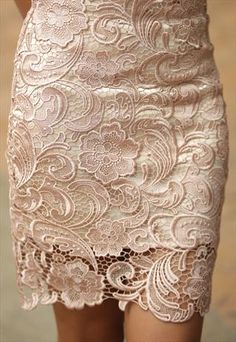 French Lace Skirt by Alice