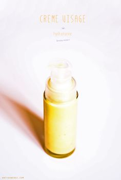 Crème hydratante visage bonne mine (huile végétale de carotte, hydrolat au choix, gel d'aloe vera, léchitine de soja...)