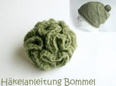 Hyperbolic-Bommel häkeln - Mützenbommel