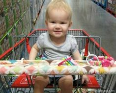 shopping cart handle cover, love this!! i wouldn't want my baby holding onto a dirty cart handle with germs on it!