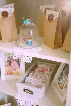 Shabby Chic Vintage Cinderella Party Birthday Party Ideas | Photo 21 of 22