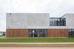 Bâtiment industriel béton et bois pl.rigaux architectes | Provera | www.plrigaux.com